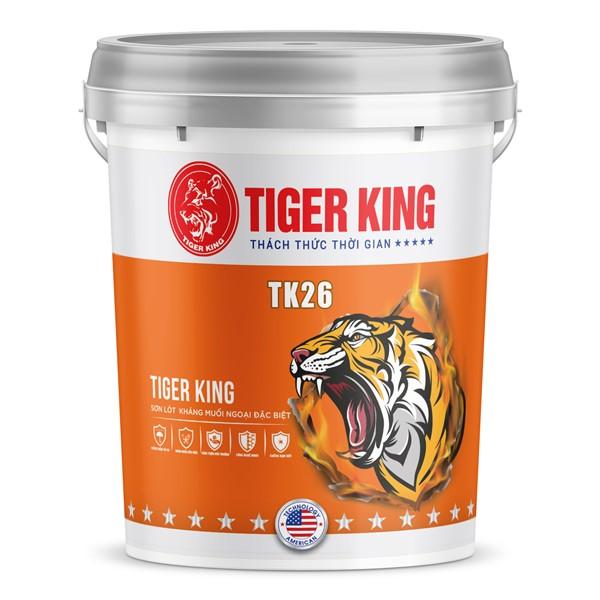 Sơn lót kháng muối đặc biệt TK26 khả năng kháng muối hiệu quả, kháng kiềm tốt