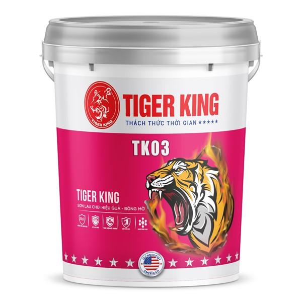 Sơn lau chùi hiệu quả - bóng mờ TK 03 lau chùi hiệu quả, có khả năng kháng khuẩn